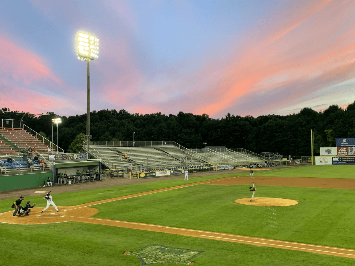 An early June Potomac Nationals game