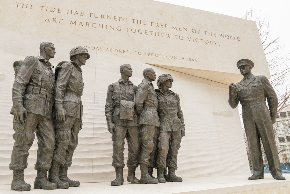 Image featuring the Eisenhower Memorial