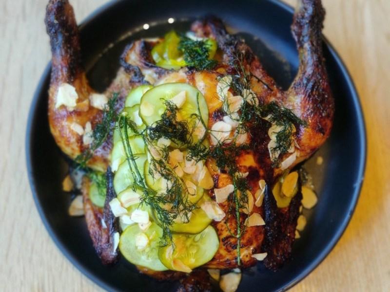 Roasted chicken from Sexy Bird
