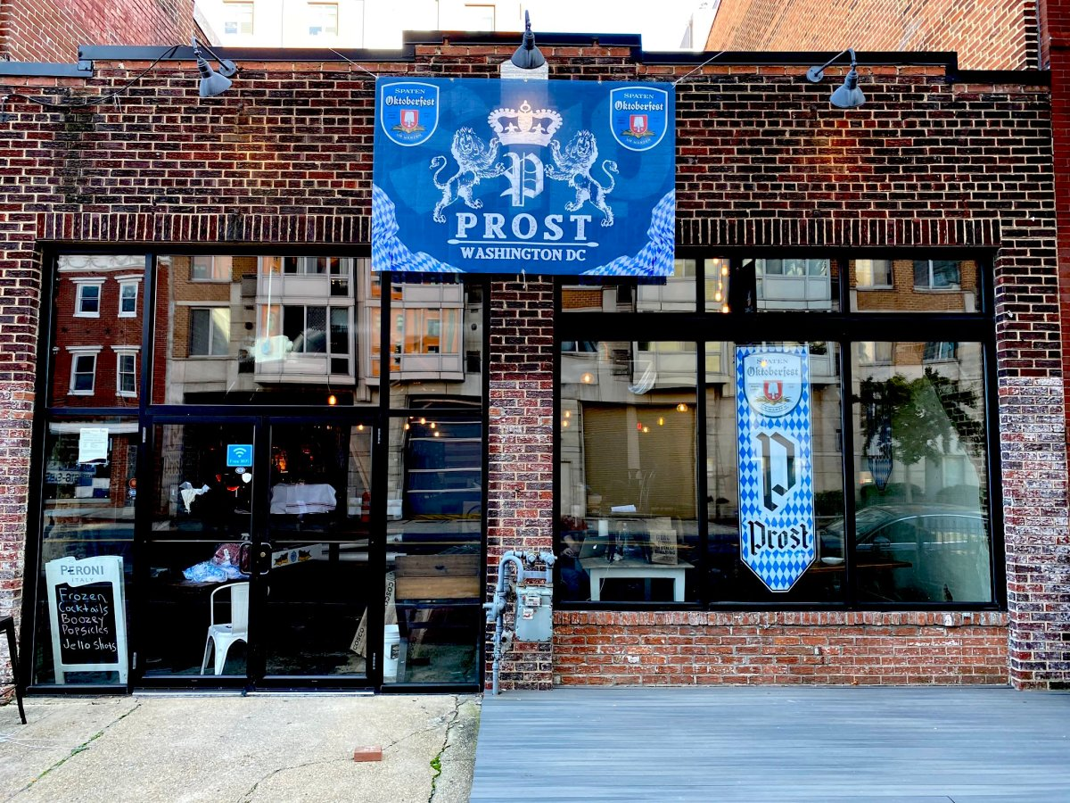 Exterior shot of Prost DC