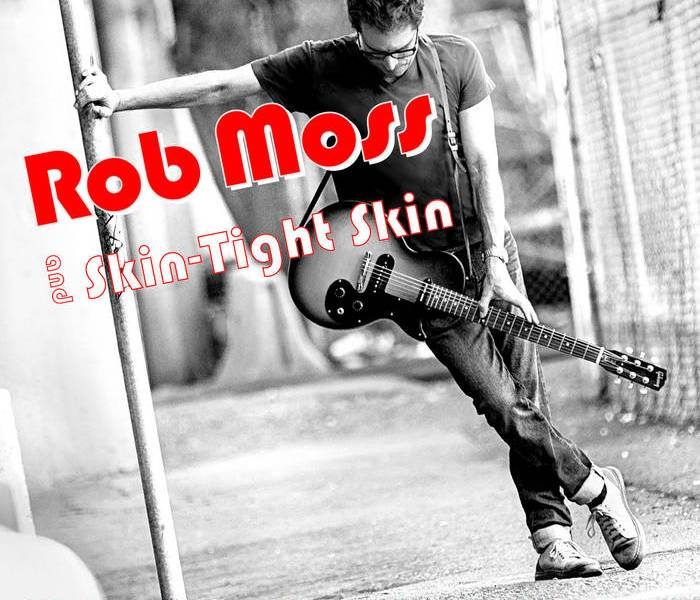 The cover of Rob Moss and Skin-Tight Skin's We've Come Back to Rock 'n' Roll.
