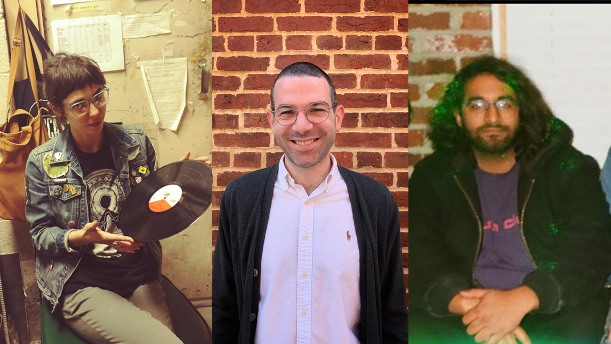 Three people who worked in live music venues in D.C. before the pandemic.