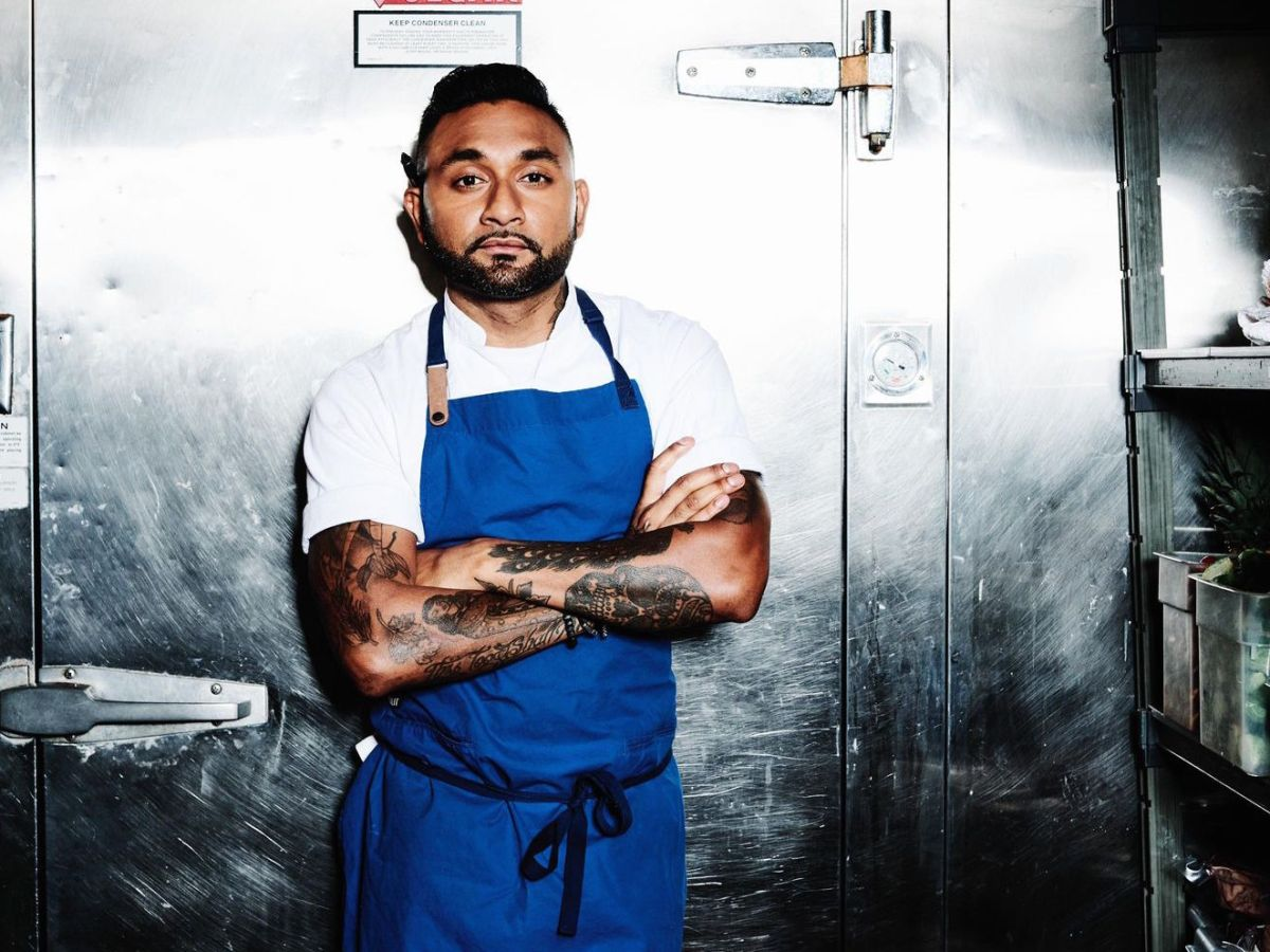 Chef and restaurateur Ashish Alfred of Duck Duck Goose
