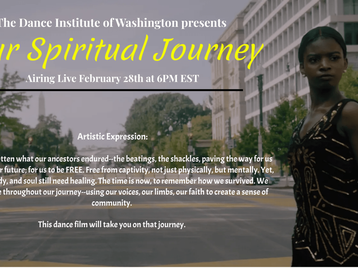 A screenshot of the promotional image for Our Spiritual Journey.