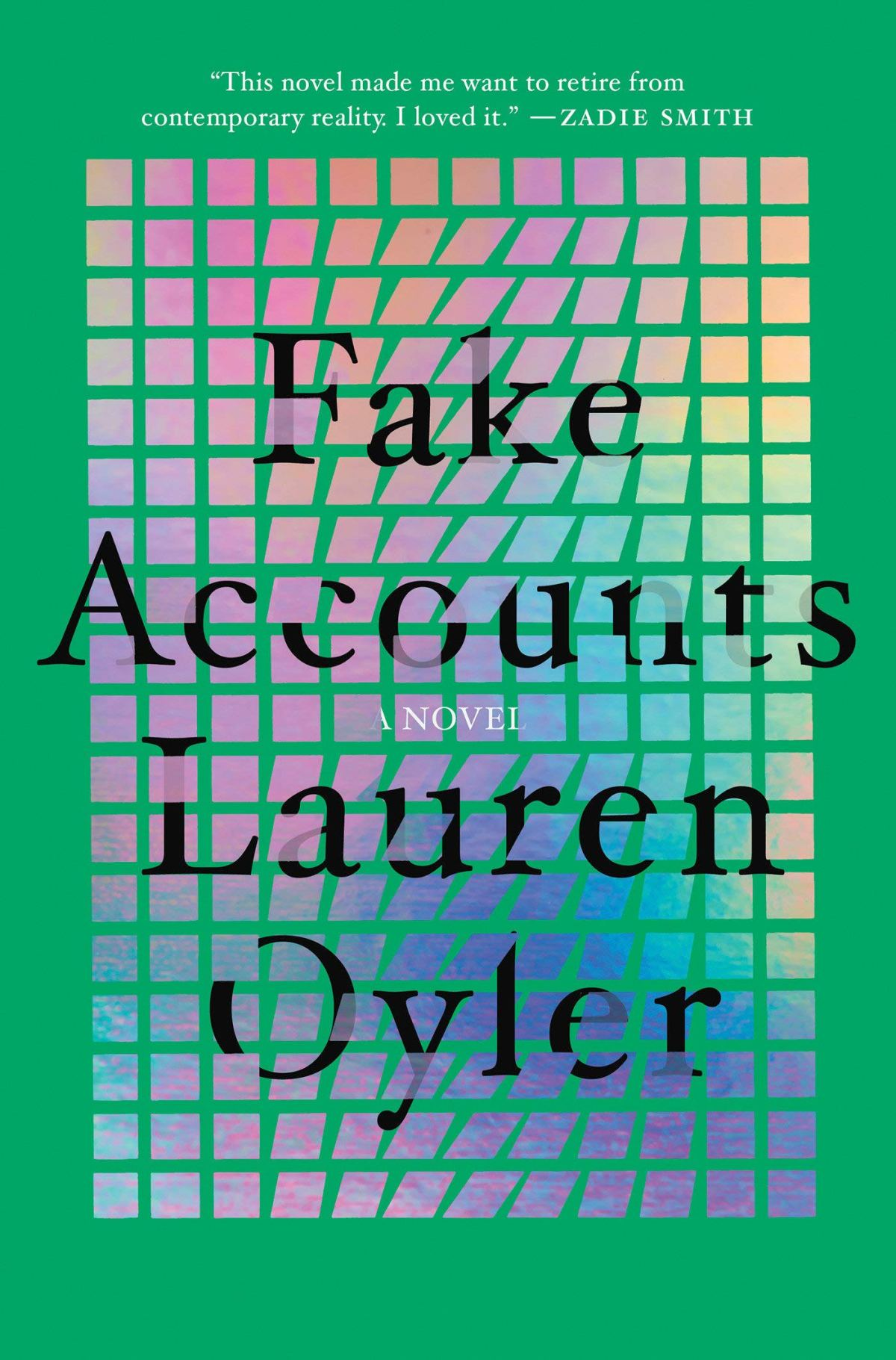 The cover of Fake Accounts.