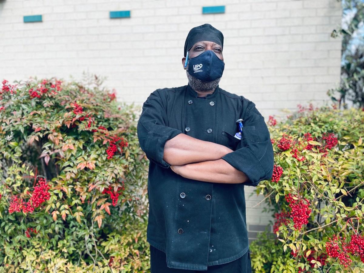 UPO culinary instructor Chef Jerald Thomas