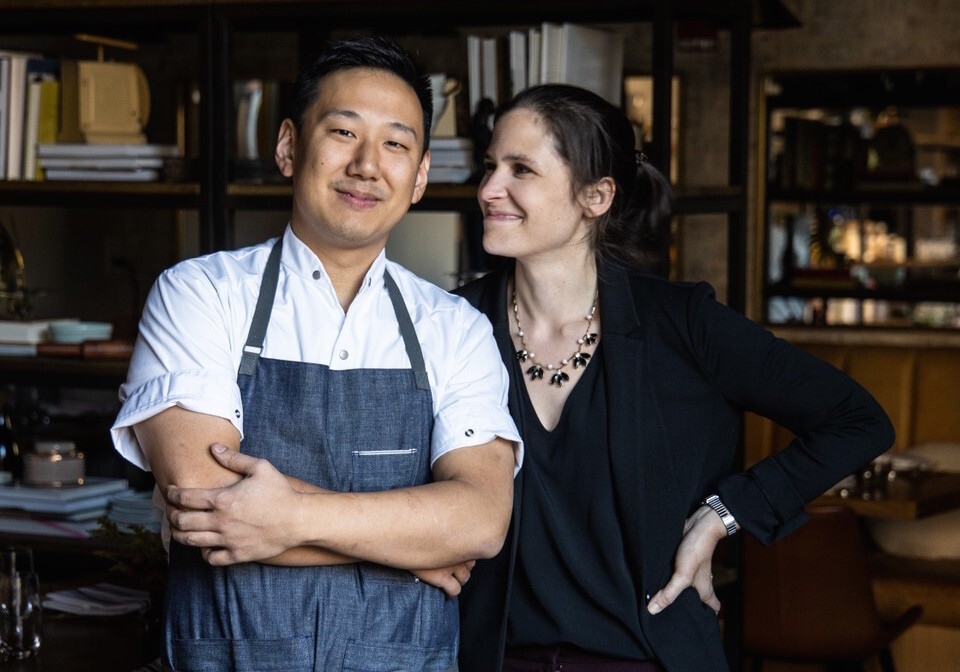 Chef Yuan Tang and Carey Tang of Rooster & Owl