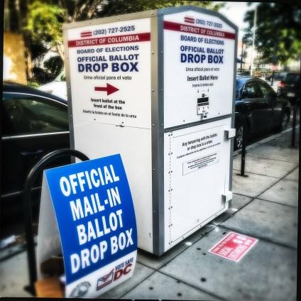 Mail Ballot drop box