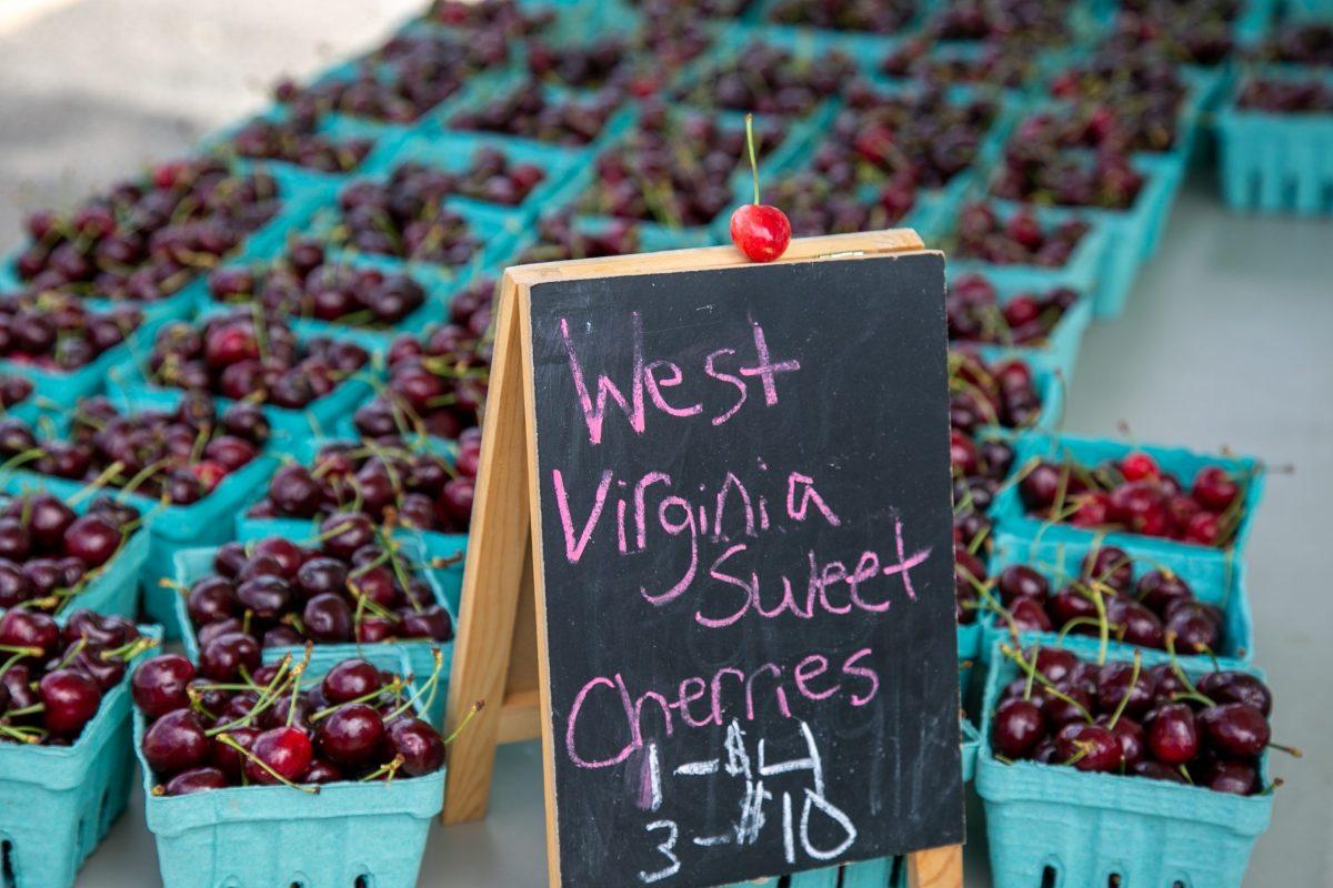 Cherries from Kilmer's Farm Market
