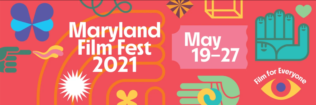 A promotional image for the Maryland Film Fest.