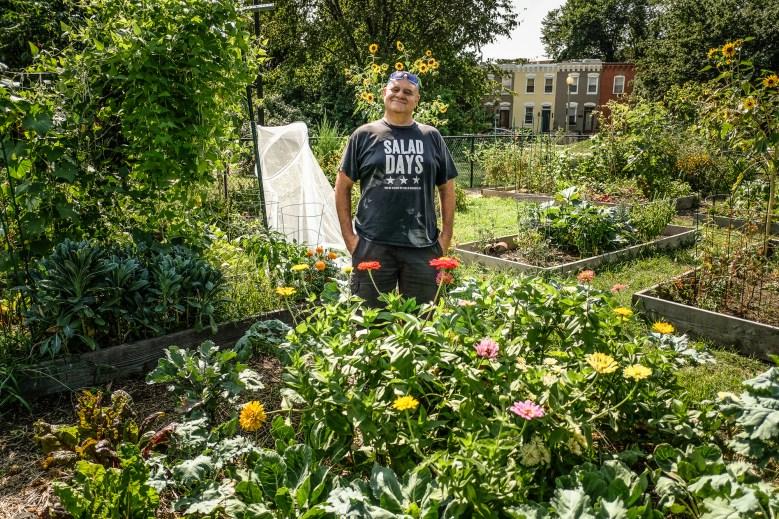 Hal the Gardener, Virginia Avenue Community Garden