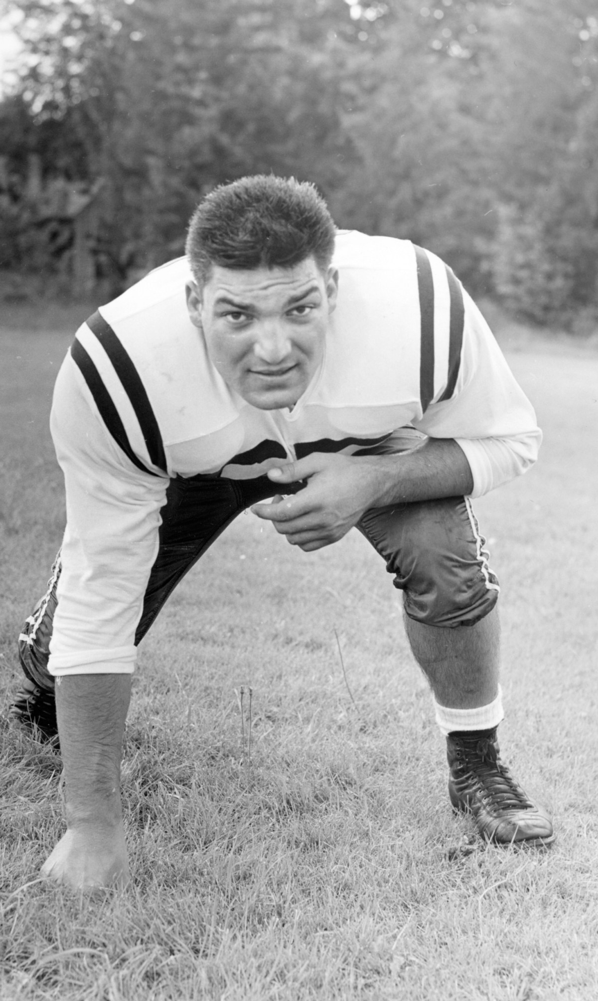Vince Promuto, a former offensive guard for the College of the Holy Cross and the Washington Football Team
