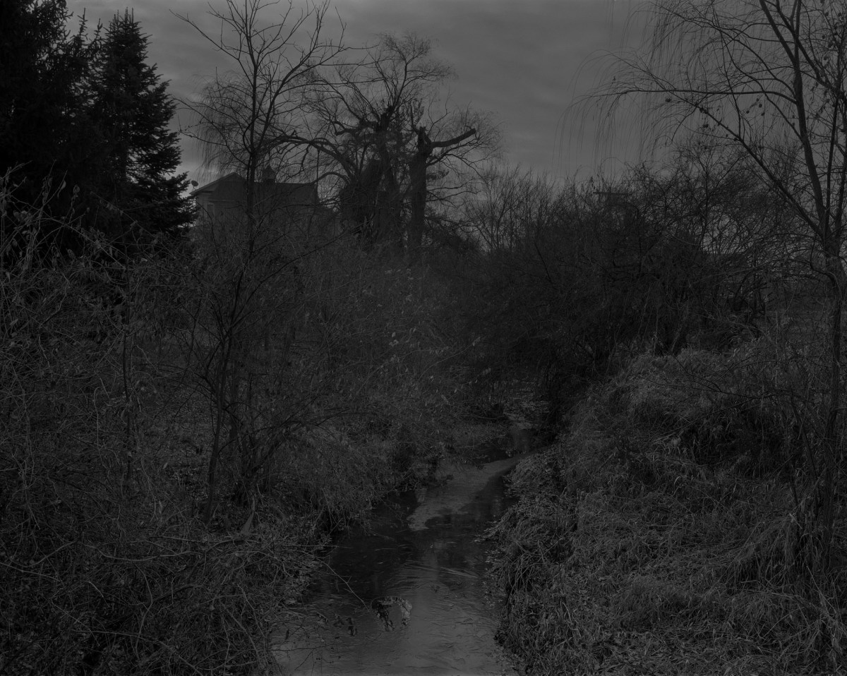 """Dawoud Bey's """"Untitled #18 (Creek and House)"""""""