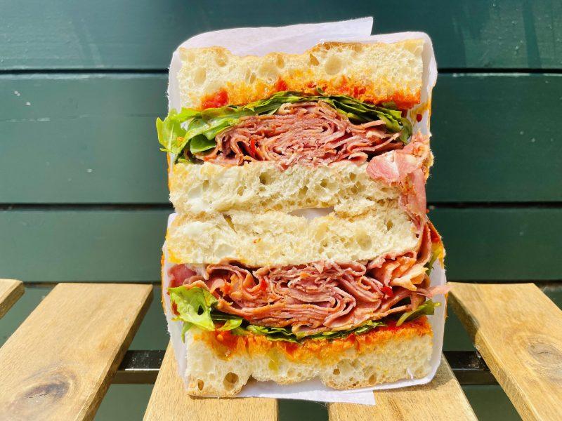 The Lynne Sandwich at Little Food Studio