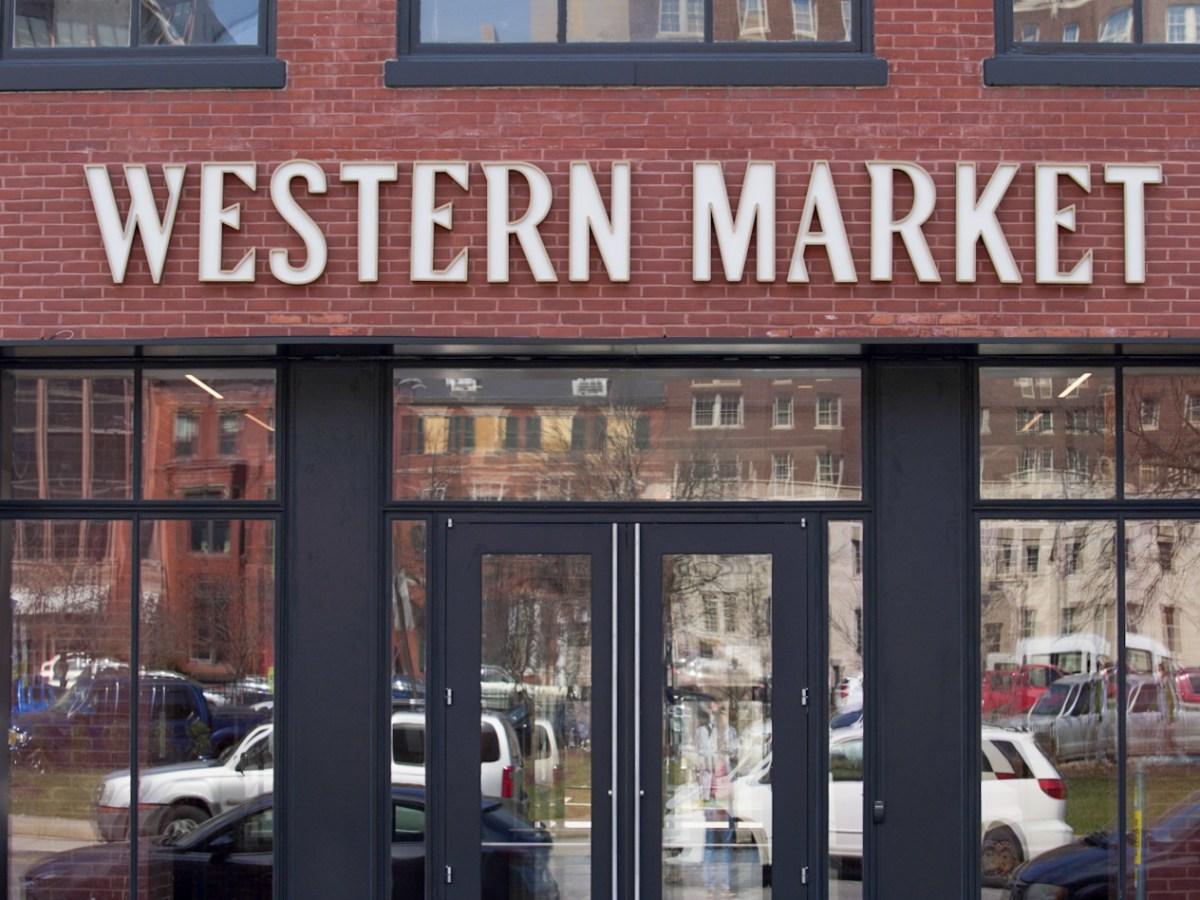 Exterior of Western Market