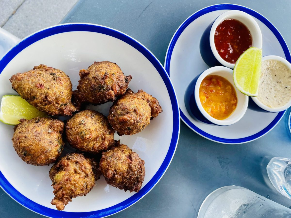 Conch Fritters at Bammy's