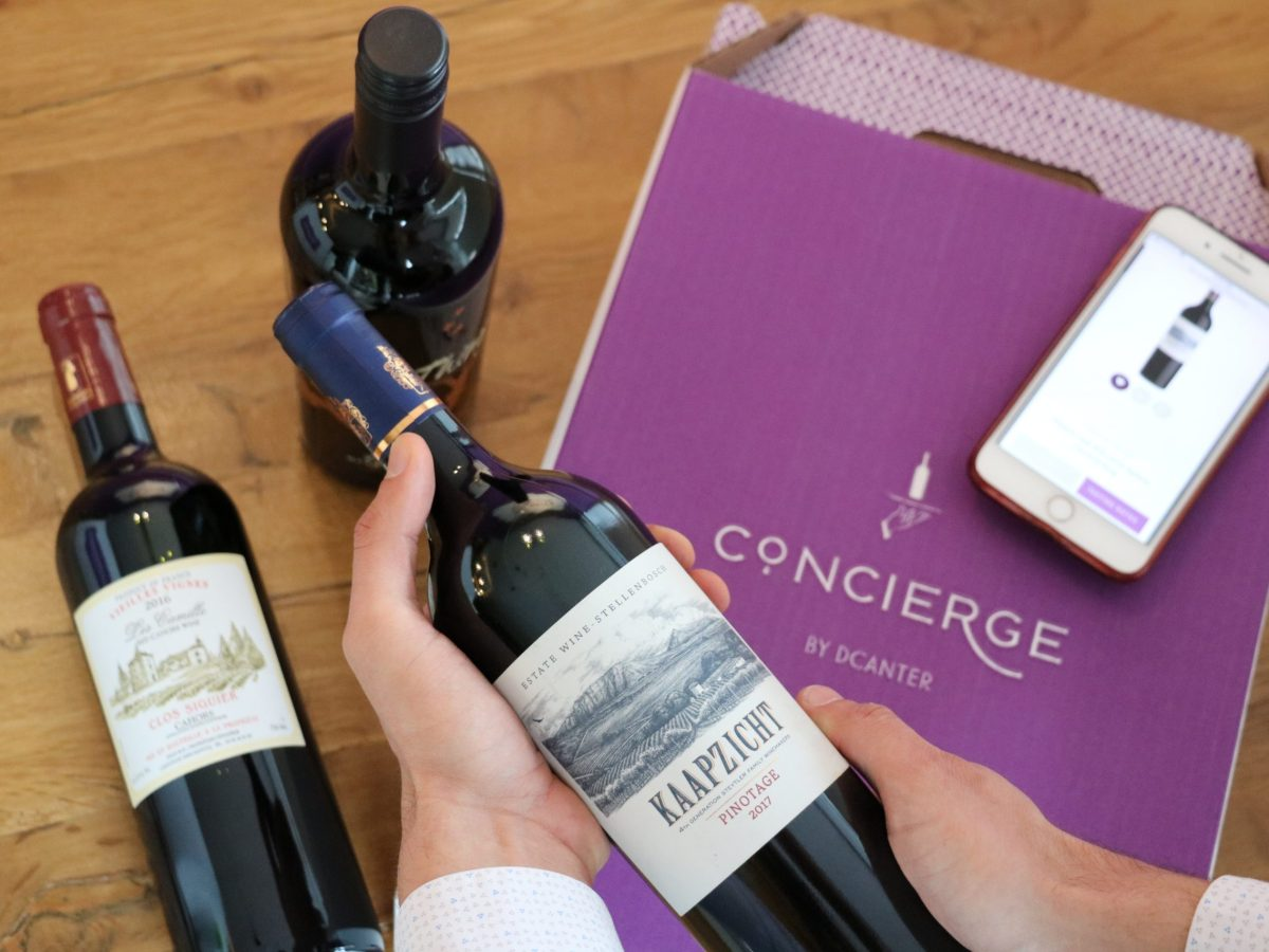 Photo of a wine club package from DCanter