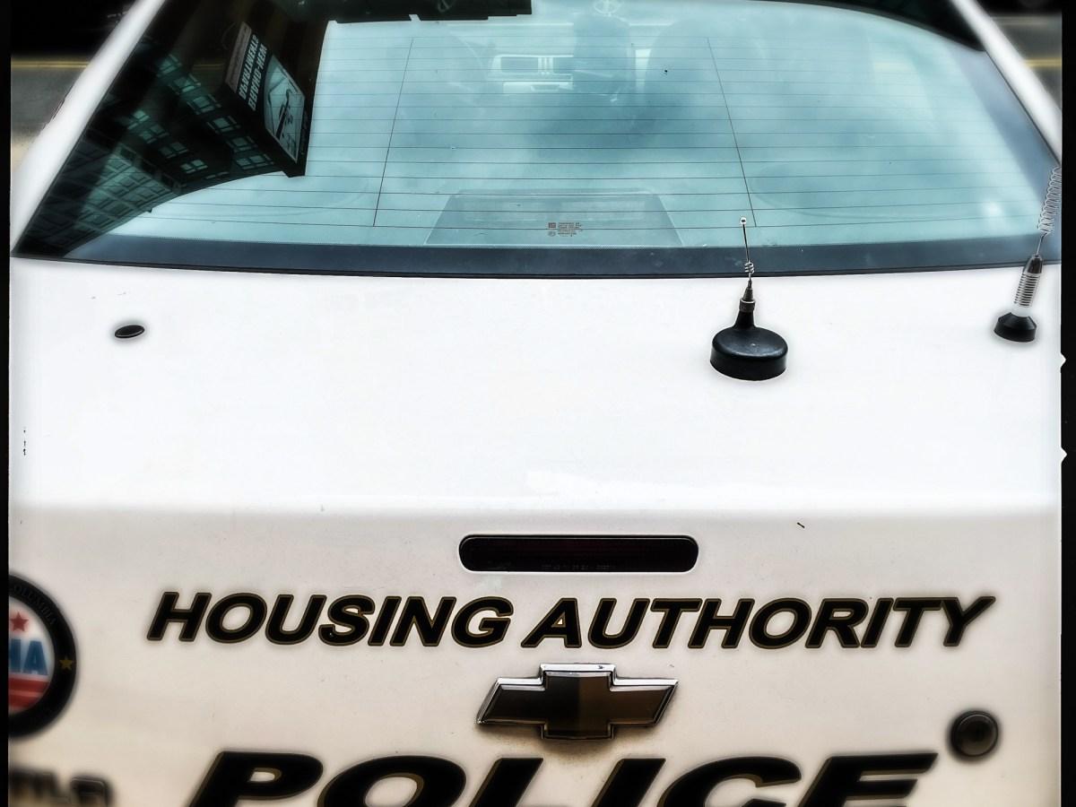 DC Housing Authority police patrol vehicle