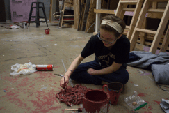 making fake blood and guts