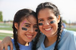 Juniors, Abril Gracia and Brianna Monroy.