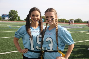 Juniors, Maddie Hrncir and Oliva Eckhardt.