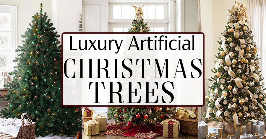 High End Luxury Artificial Christmas Trees For People Who Want To Splurge For The Best Newspaper Cat