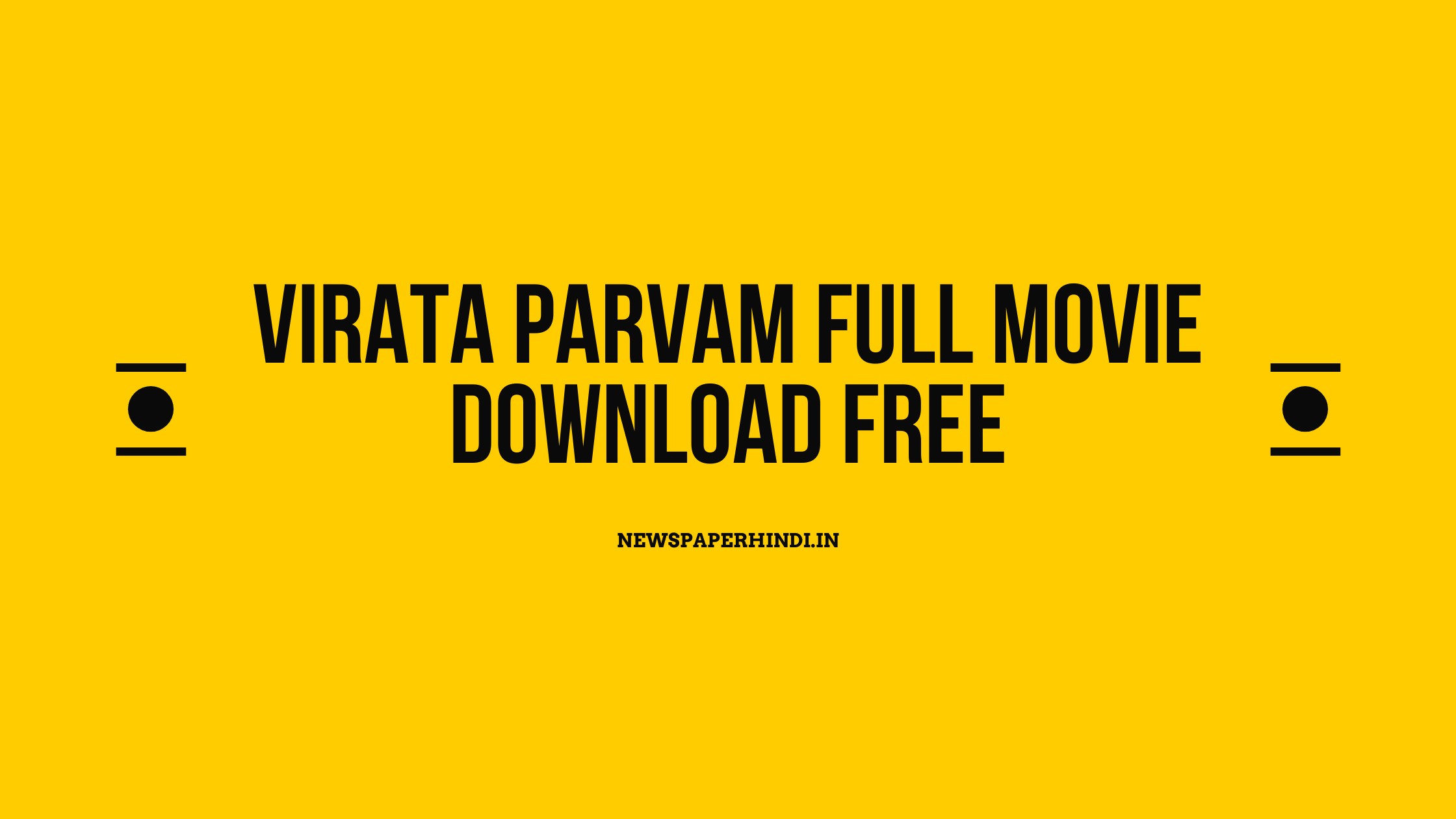 Virata parvam full movie download free