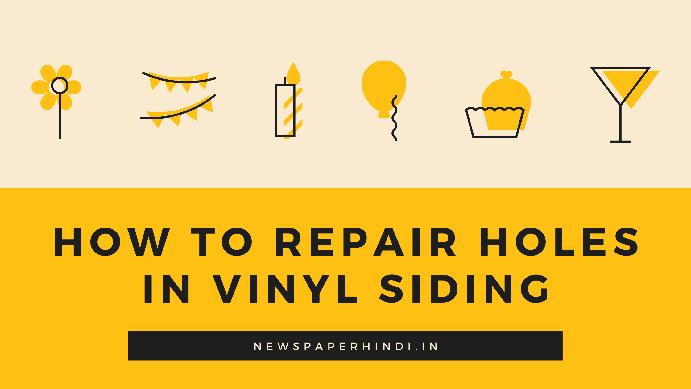 how to repair holes in vinyl siding