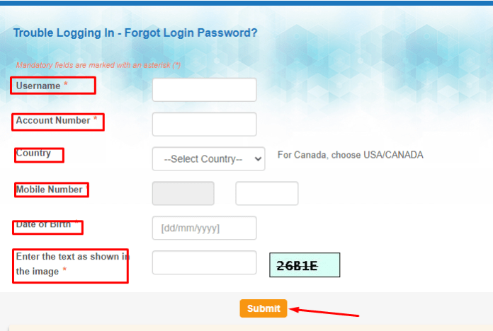 how to reset profile password in sbi yono