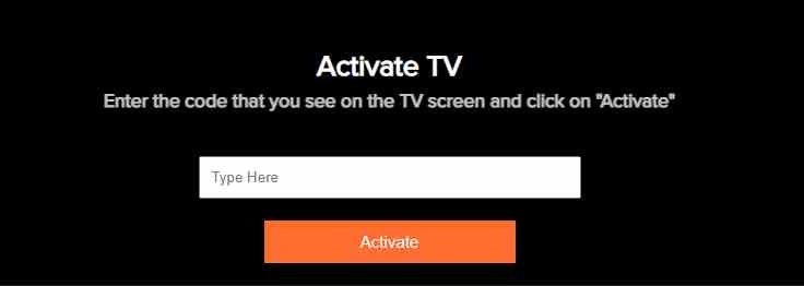 How to activate aha app on tv