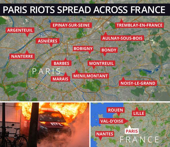 FranceRiots