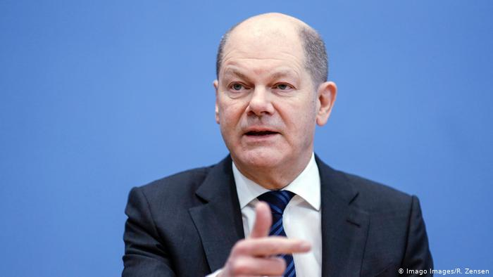 Olaf Scholz, Germany's vice chancellor and SPD candidate to succeed Angela Merkel (Imago Images / R. Zensen)