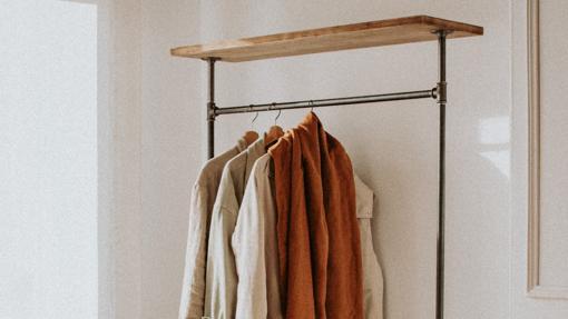 A coat rack.