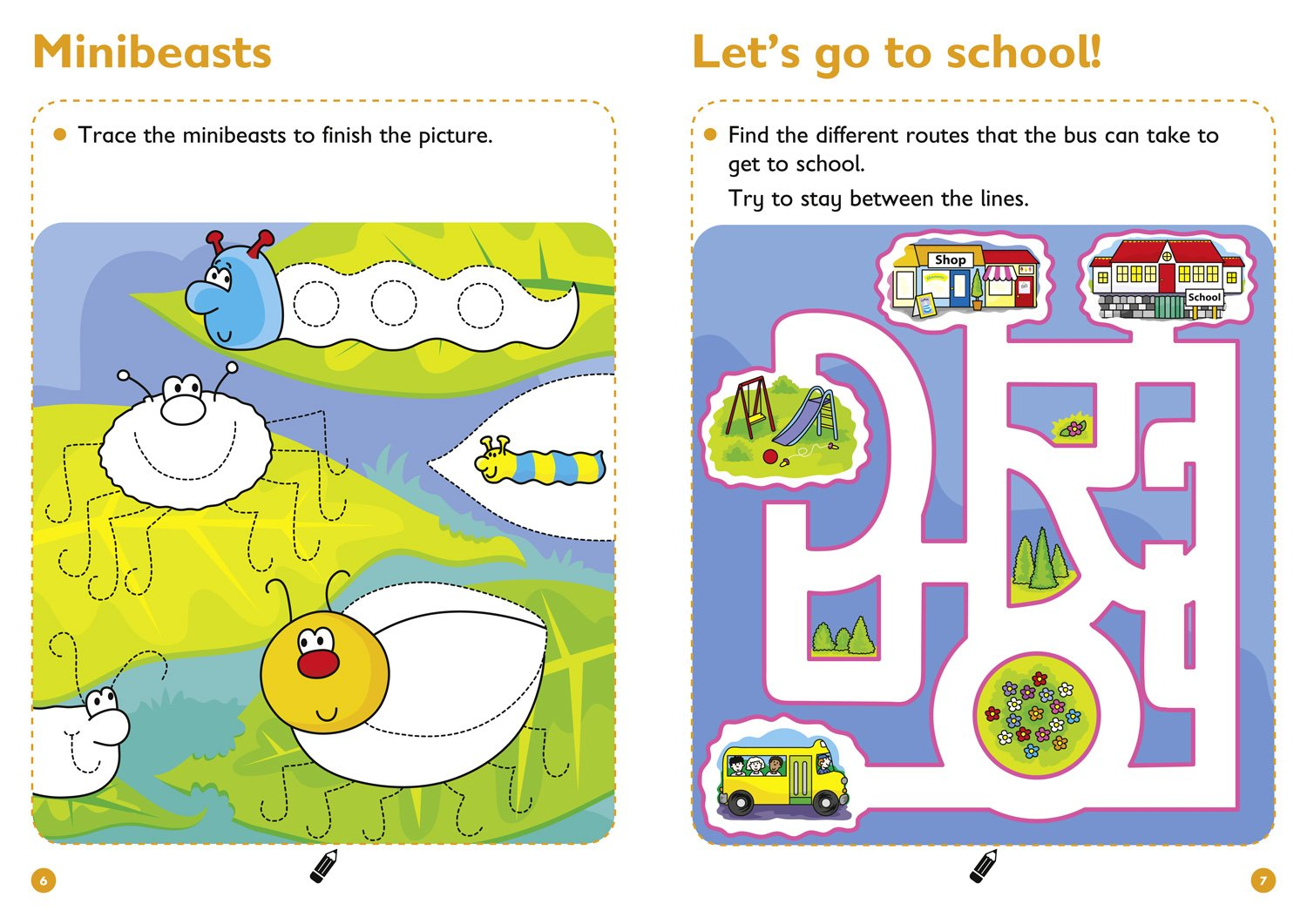 Pen Control Age 3 5 Wipe Clean Activity Book Collins Easy Learning Preschool