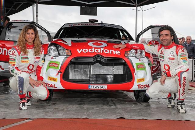 Citroën Vodafone Team no rescaldo de Fafe