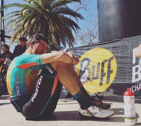 Tiago Ferreira na liderança da Andaluzia Bike Race