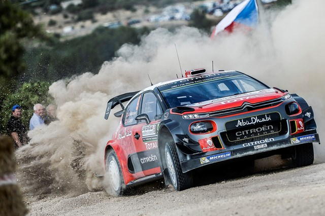 Shakedown: Mikkelsen toma o pulso ao Citroen C3 WRC