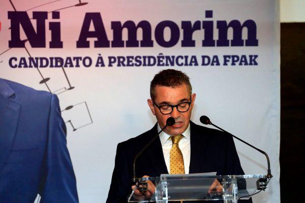 Ni Amorim eleito presidente da FPAK