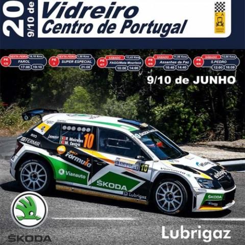 Rallye Vidreiro Centro de Portugal recheado de novidade para 2017