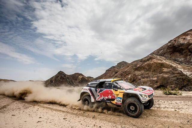 Vitória de Peterhansel na 11ª etapa do Silk Way Rally 2017