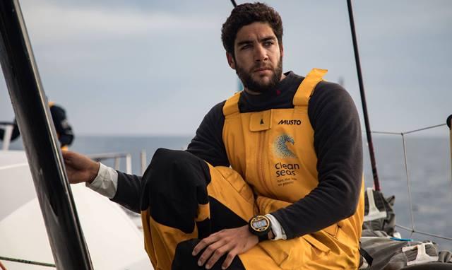 Bernardo Freitas, um português em testes para a Volvo Ocean Race 2017-2018