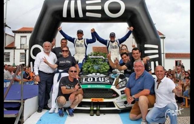 uís Rego vence Rallye Além Mar Santa Maria