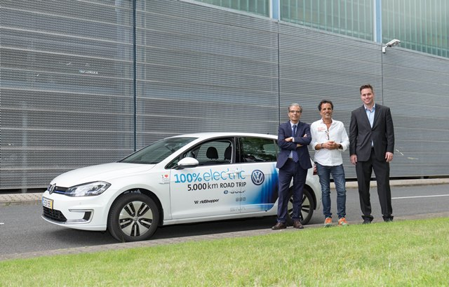 Volkswagen e-Golf realiza RoadTrip 100% eléctrica de 5.000 km
