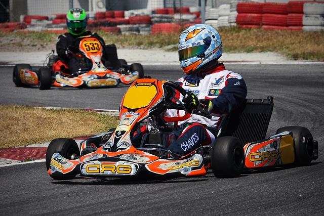 Henrique Chaves quer conquistar sexta Taça de Portugal de Karting
