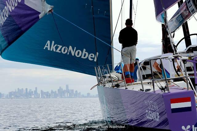 Finalmente a frota reúne-se em Melbourne