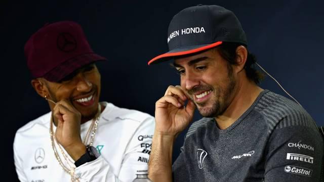 Hamilton não voltará a fazer equipa com Alonso
