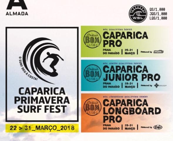 Caparica Primavera Surf Fest, um evento em destaque pela WSL!