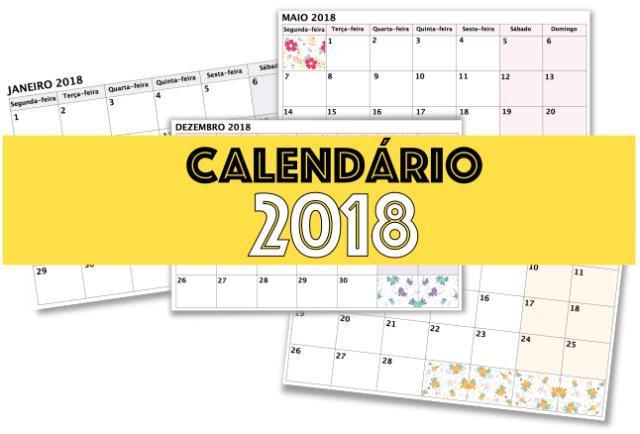 Calendário 2018 do Challenge 1000 cc