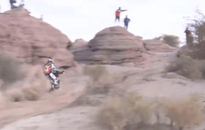 Cancelada a 12ª etapa do Dakar apenas para as motos