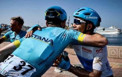 Team Astana em situação critica